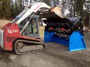 Find out more about DeSite's SLG-108 ProScreen Topsoil and Rock Screeners
