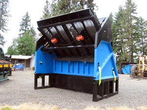 Front view of the Desite SLG-108VFRB Topsoil Screener